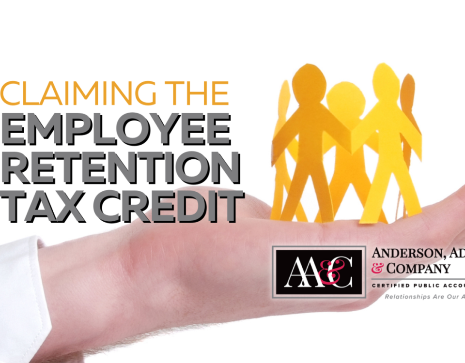 Claiming the Employee Retention Tax Credit